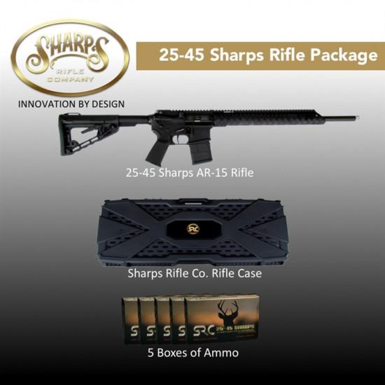 "Sharps 25-45 Sharps ""Field Master"" Rifle Package"
