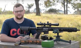 Sharps .25-45 Range Test